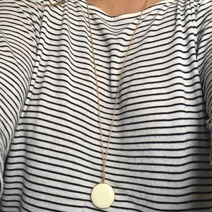J. Crew Pendant Necklace with Locket